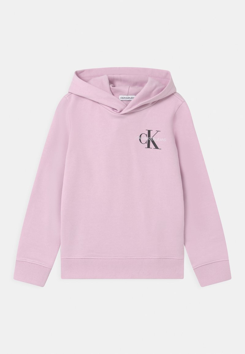 Calvin Klein Jeans - SMALL MONOGRAM HOODIE UNISEX - Hoodie - lavender pink