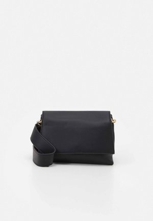 PCDAMARA CROSS BODY - Umhängetasche - black/gold