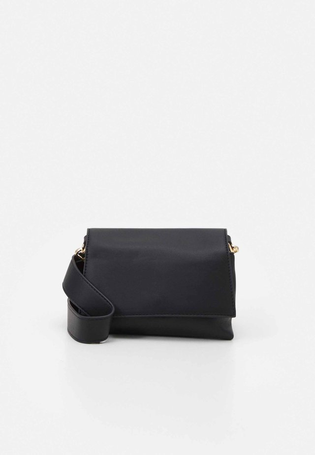 PCDAMARA CROSS BODY - Across body bag - black/gold