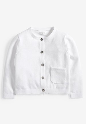 CARDIGAN (3MTHS-7YRS) - Strikjakke /Cardigans - white