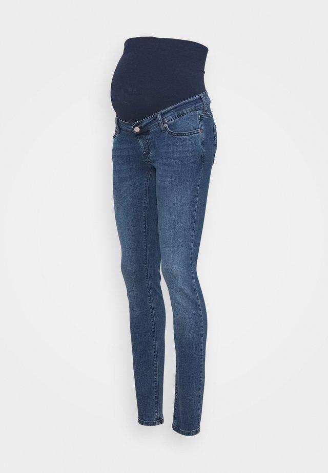 MILA AUTHENTIC BLUE - Slim fit jeans - authentic blue
