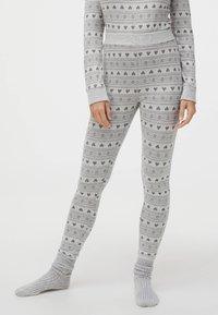 OYSHO - Bas de pyjama - light grey - 0