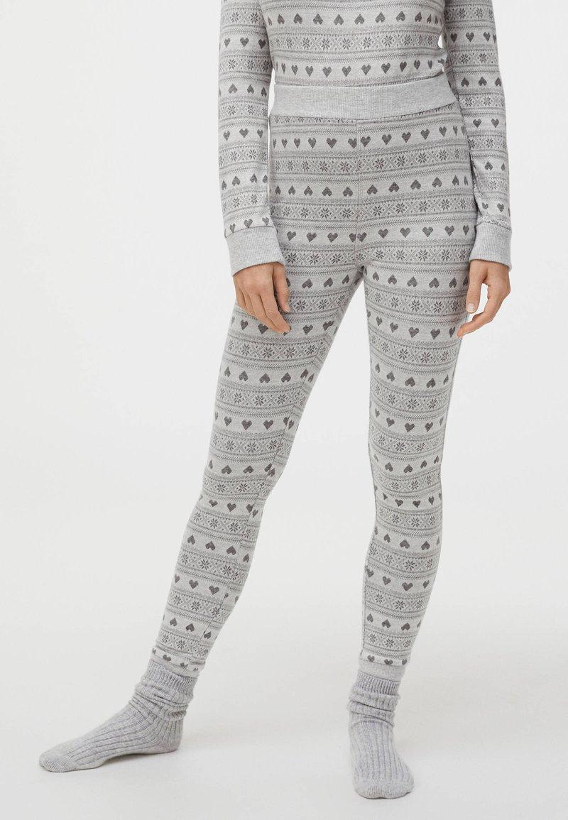 OYSHO - Bas de pyjama - light grey
