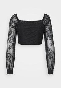 Glamorous Petite - LADIES  - Long sleeved top - black - 1