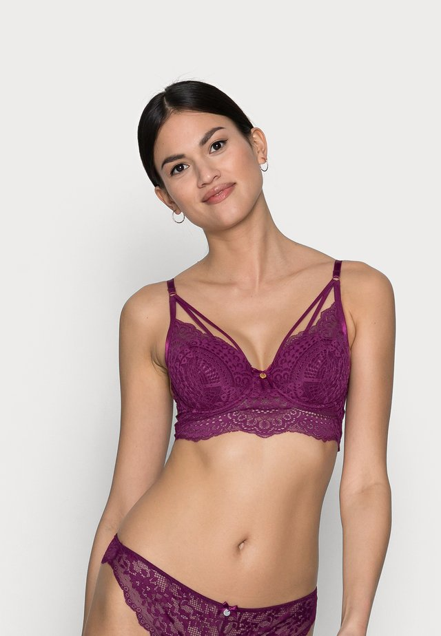 DARCIE LONGLINE BRA - Bygel-bh - grape