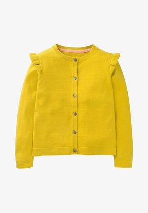 Cardigan - daffodil yellow