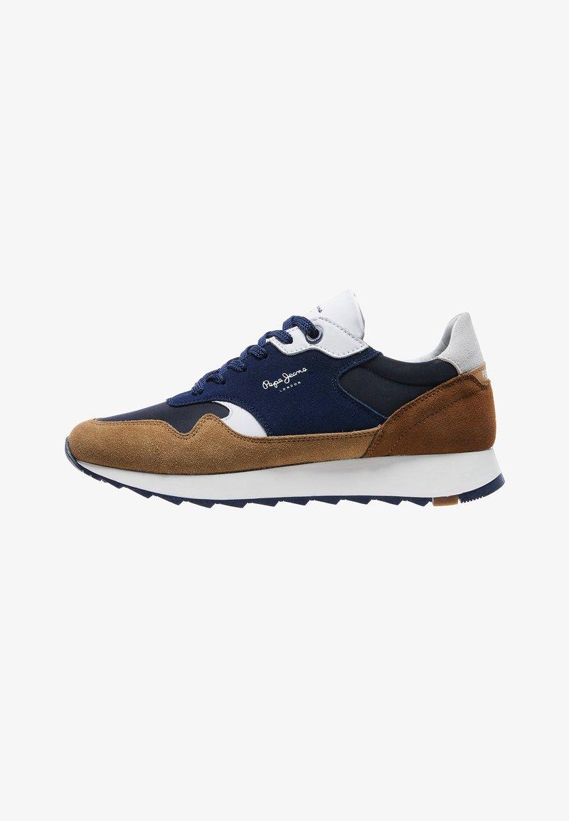 Pepe Jeans - SLAB SUMMER - Sneakers - cognac