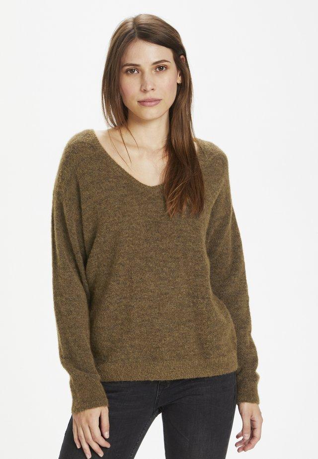 Sweter - carafe melange