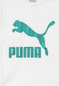 Puma - PUMA X ZALANDO TEE - T-shirt print - white - 3