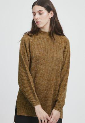 IHMARAT - Jumper - golden brown