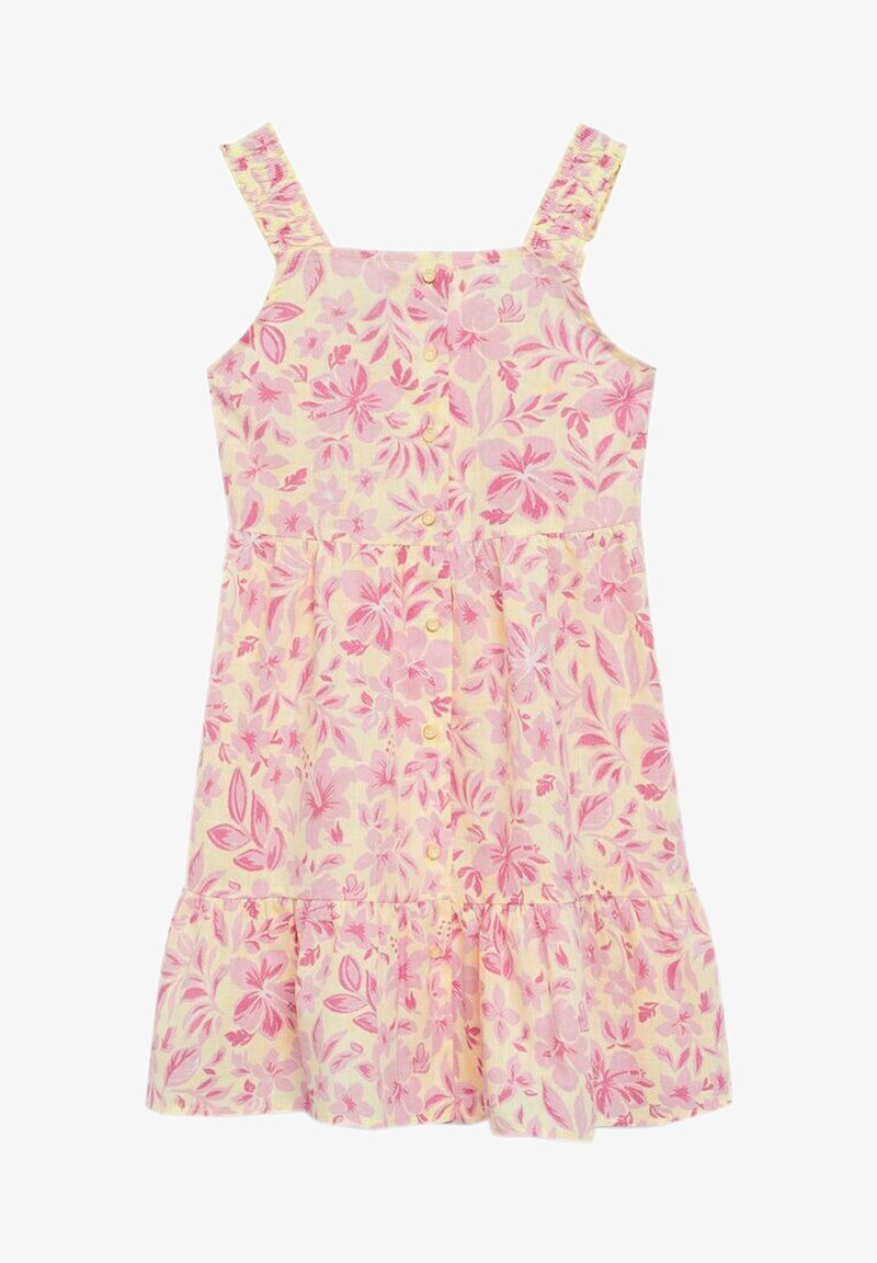 Mango - SUMMER - Day dress - gelb