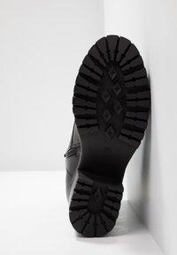 Dockers by Gerli - Platform ankle boots - schwarz/dunkelgrau - 6