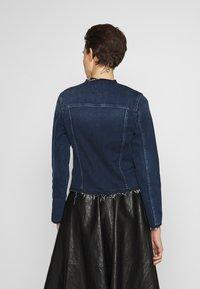 7 for all mankind - JACKET - Denim jacket - dark blue - 2