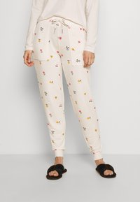 Marks & Spencer London - FLEXIFIT PANT - Pyjama bottoms - oatmeal mix - 0