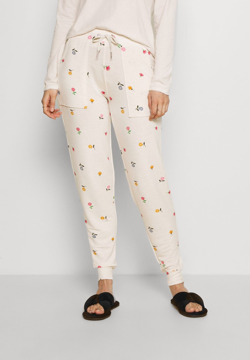 Marks & Spencer London - FLEXIFIT PANT - Pyjama bottoms - oatmeal mix