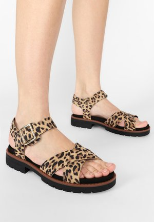 ORINOCO - Sandals - brown