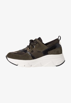 Trainers - olive comb