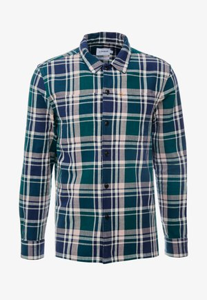 BEWLAY  CHECK - Camisa - bright emerald