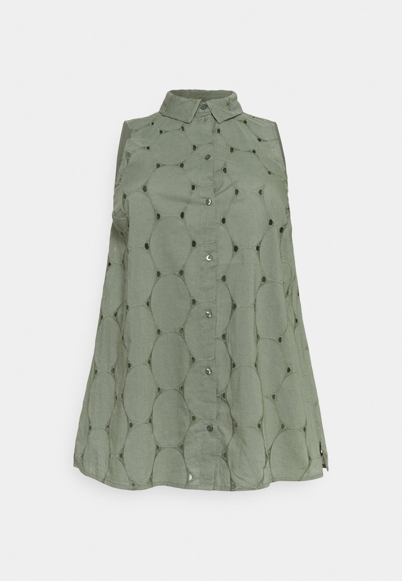 Zizzi - MALFIE TUNIC - Blouse - agave green