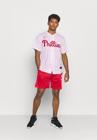 Nike Performance - MLB PHILADELPHIA PHILLIES OFFICIAL REPLICA HOME - Club wear - white/scarlet - 1