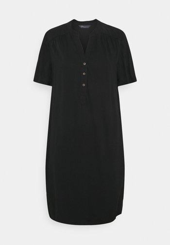 PLAIN SHIFT - Day dress - black