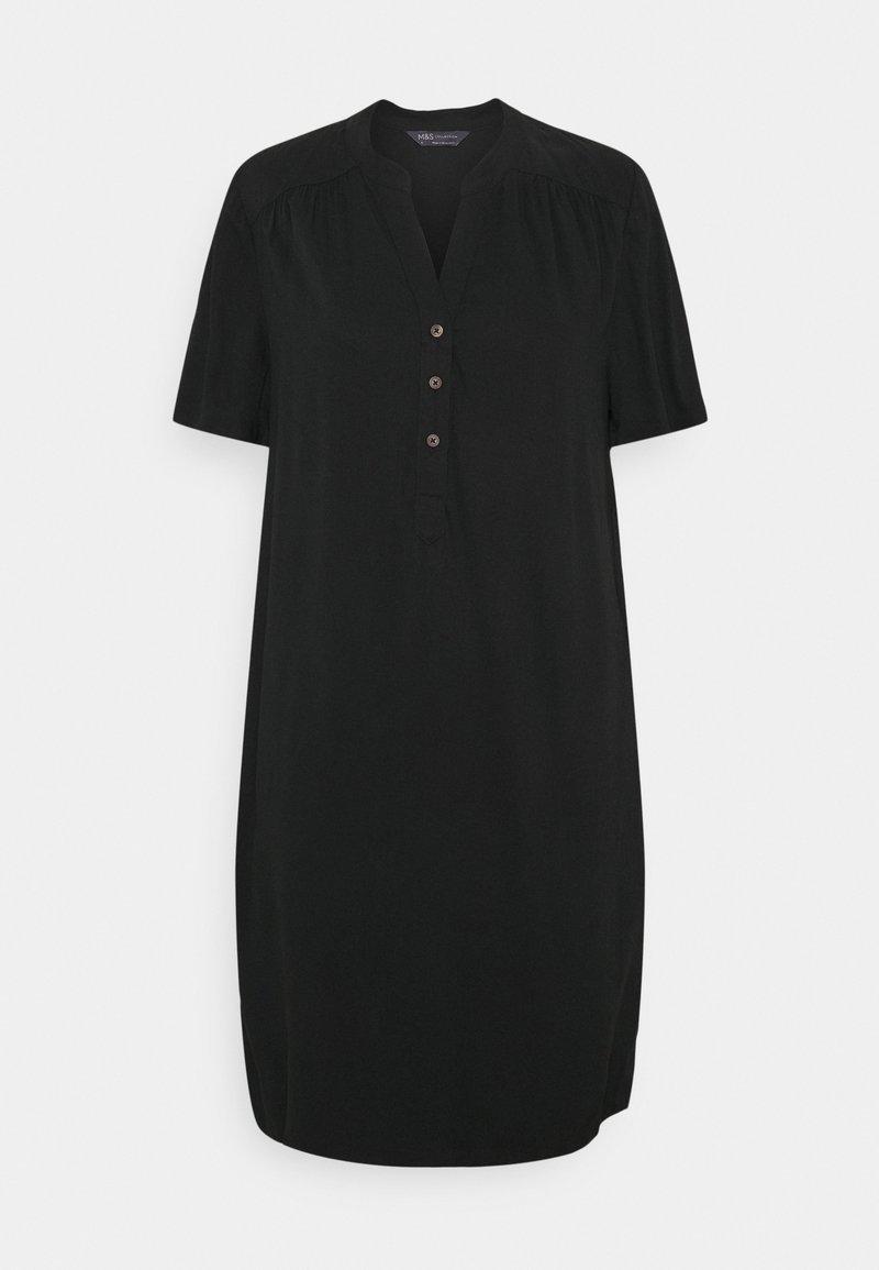 Marks & Spencer London - PLAIN SHIFT - Day dress - black