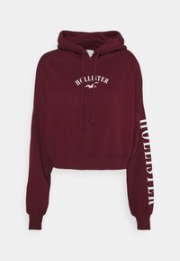 Hollister Co. - Mikina - dark red - 0