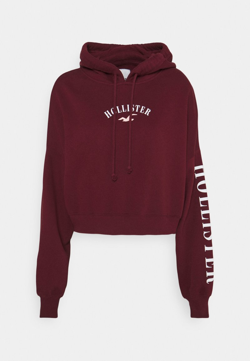 Hollister Co. - Mikina - dark red