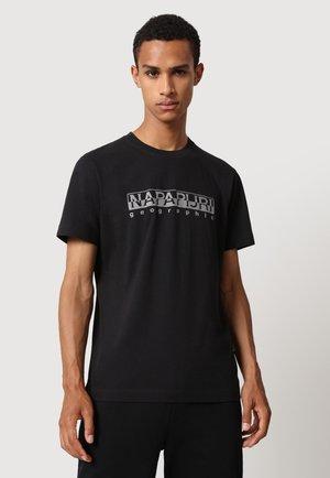 SERBER PRINT - T-shirt print - black