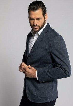 GRANDES TAILLES - Blazer jacket - bleu marine foncé chiné