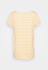 Esprit - SLUB - Print T-shirt - off white - 1