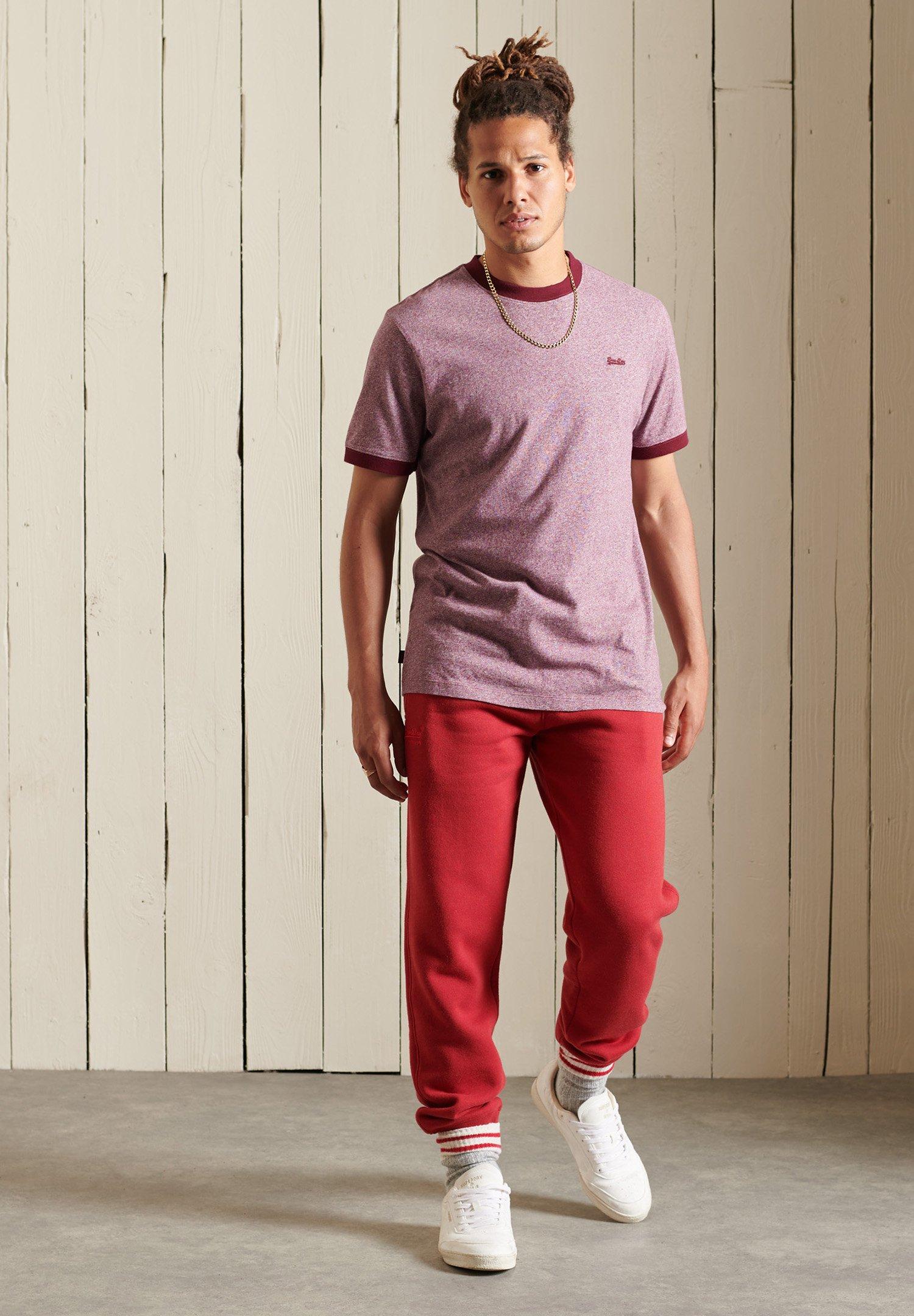 Herrer VINTAGE RINGER - T-shirts basic