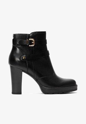ANNIKA - Korte laarzen - black