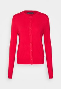 Marks & Spencer London - CREW CARDI PLAIN - Cardigan - red - 0