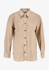 Opus - Button-down blouse - beige - 0