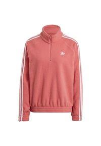adidas Originals - FLEECE HZ - Fleece jumper - hazy rose - 8