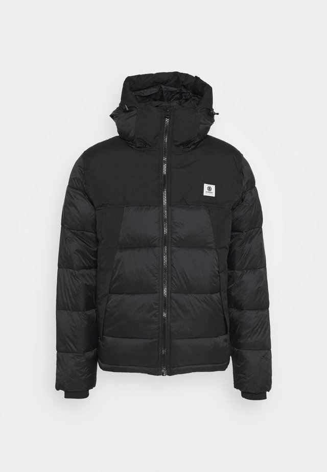 DULCEY PUFF - Winter jacket - flint black