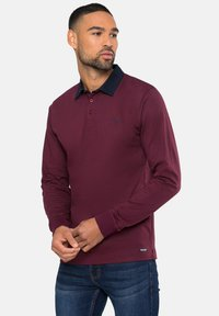Threadbare - STRUAN - Polo shirt - burgundy - 0
