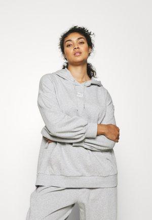 CLASSICS OVERSIZED HOODIE PLUS - Sweatshirt - light gray heather