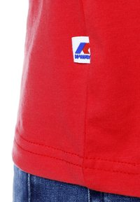 K-Way - PETE MACRO LOGO - Print T-shirt - red - 5