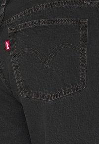 Levi's® - 501® MID THIGH SHORT - Short en jean - lunar black - 5
