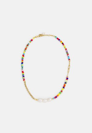 CHOKER WITH COLOUR BEADS UNISEX - Ketting - colourful