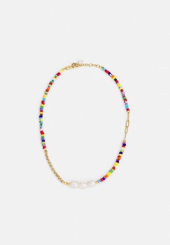 CHOKER WITH COLOUR BEADS UNISEX - Necklace - colourful