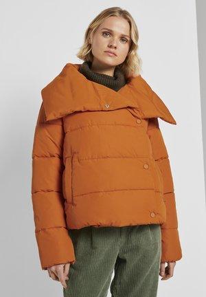Winter jacket - dusty pumpkin orange