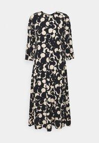 Marimekko - PEILAUS MURIKAT DRESS - Denní šaty - black/beige - 5