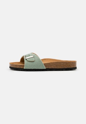 SLIDES - Slippers - sage