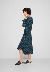 Diane von Furstenberg - MANAL DRESS - Day dress - mirrors medium dark ocean - 4