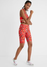Desigual - Leggings - Trousers - red - 1