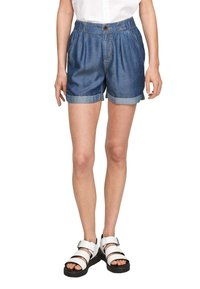 QS by s.Oliver - Jeansshort - medium blue - 4