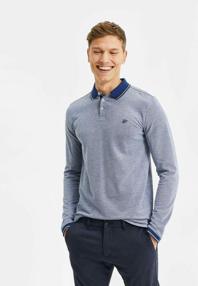 Polo - greyish blue